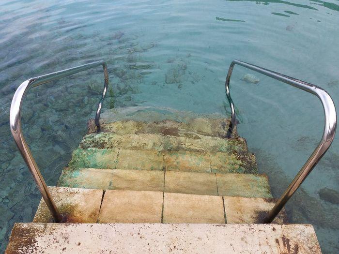 Water Steps Sea