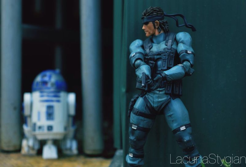 Figma Toyphotography Mgs2 MGS Metal Gear Solid Metal Gear Snake Solid Snake