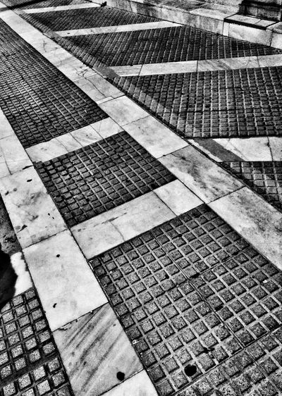 Interesting Floor Black And White Lines And Angles Textures And Surfaces