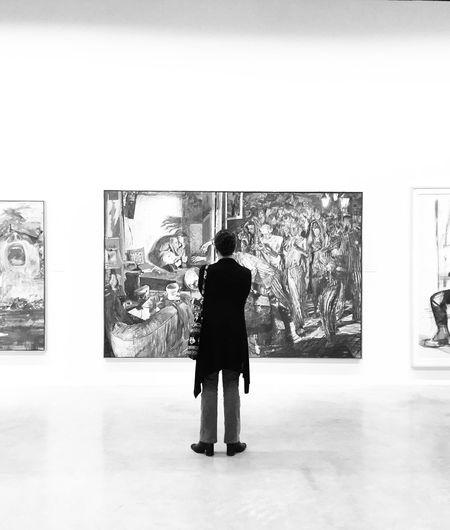 Blackandwhite Art People Watching People Mexico Museum Modern Art