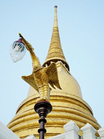 Thai style photo. Wat Thai Sky Tourism Bangkok Thailand. Thailand.. Tods Tada Photo Thailand Outdoors Backgrounds Wat Temple Thailand Bangkok Thailand