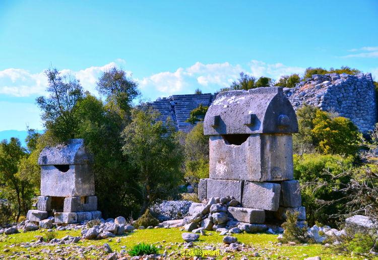 Kyneai antik kenti yavu köyü antalya