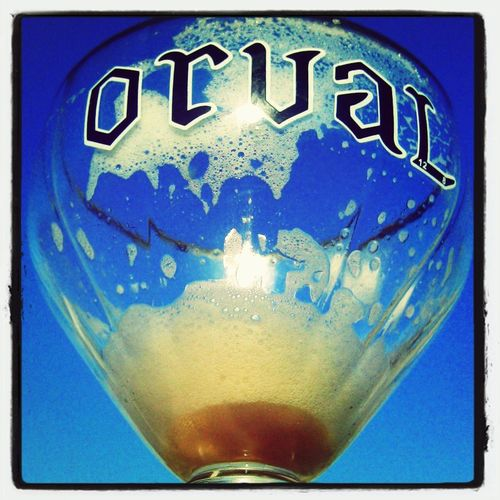 Drinking Orval