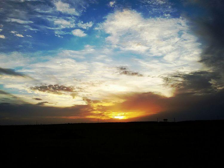 Desert Sky_collection Skyporn Sunrise Beautiful Sky Sky And Clouds Adrar Algeria