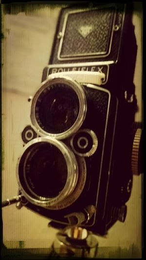 Vintage Camera Large Format Rolleiflex Super Retro