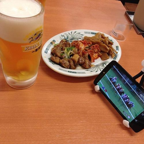 競馬中継見ながら昼ビール! Beer 昼酒倶楽部 競馬 JRA