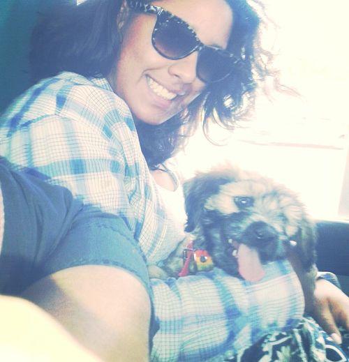 My Puppy ♥ Walking Around Summertime Happyness