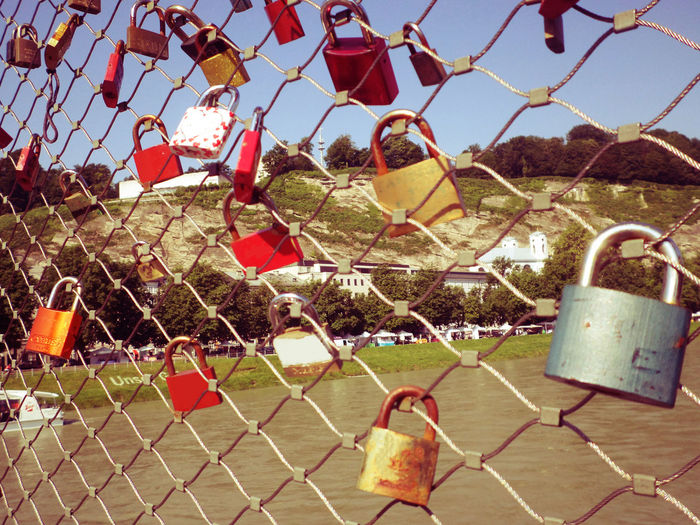 symbol of eternity love, commitment, and motivation of relationships and friendships Abstract Bonding Bridge Close-up Commitment Destiny Encouragement Engagement Eternity Fence Forever Friendship Inspired Lock Love Lover Marriage  No People Relationship Symbol Together Togetherness Unity
