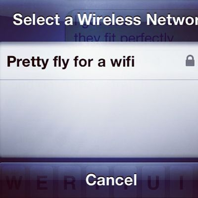 😂 must meet this person Prettyfly Wifi Theoffspring