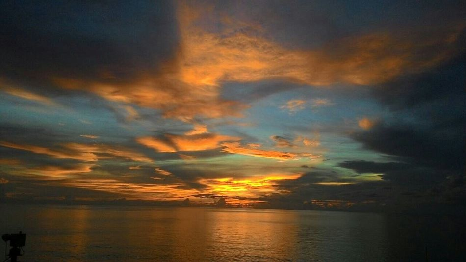 Hello World Sunset_collection No Edits No Filters Sea View Batam-Indonesia