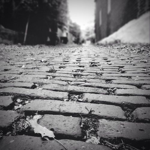 Cobblestone Cobblestone Streets Alley Cobblestone Walkway Urban Urban Landscape Blackandwhite Black And White
