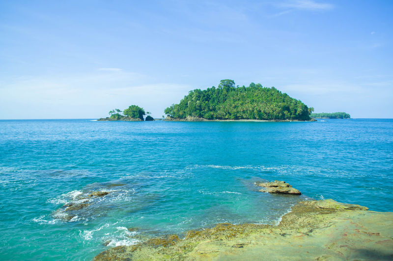Aceh natural islands