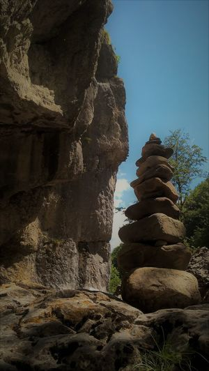 Balance Beauty In Nature Day Nature No People Outdoors Rock - Object Rock Formation Sky Stack Tranquility