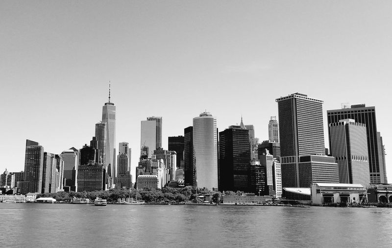 Cityscape New York New York City Staten Island Ferry City Cityscape Urban Skyline Water Modern Skyscraper Business Business Finance And Industry Downtown District Development Waterfront Summer Road Tripping The Traveler - 2018 EyeEm Awards EyeEmNewHere