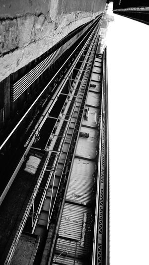 I'll be ready when my train pulls in. Take my hand board it with me Monochrome Notes From The Underground Light And Shadow Open Edit Train Station Train Tracks Brooklyn Black & White Lines Dark