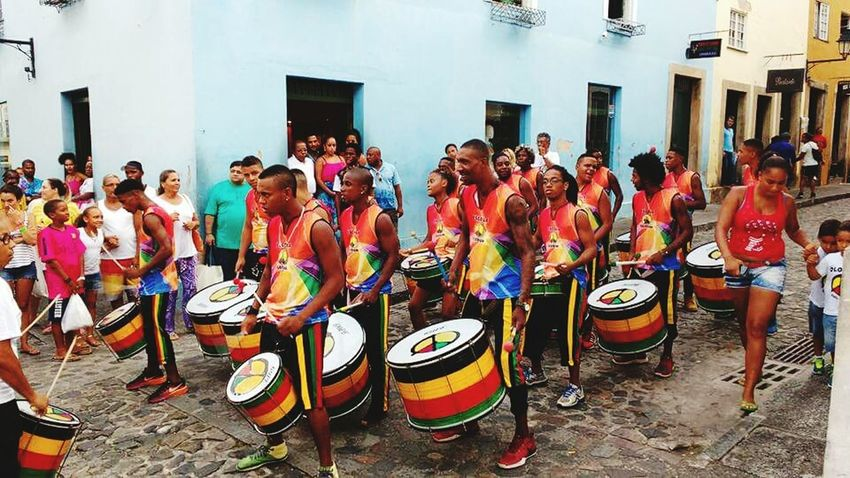 Olodum ! Pelourinho! Enjoying Life Colors Of Carnival Bahia/brazil Summer Salvador Bahia Pelourinhosalvador Carnaval2016