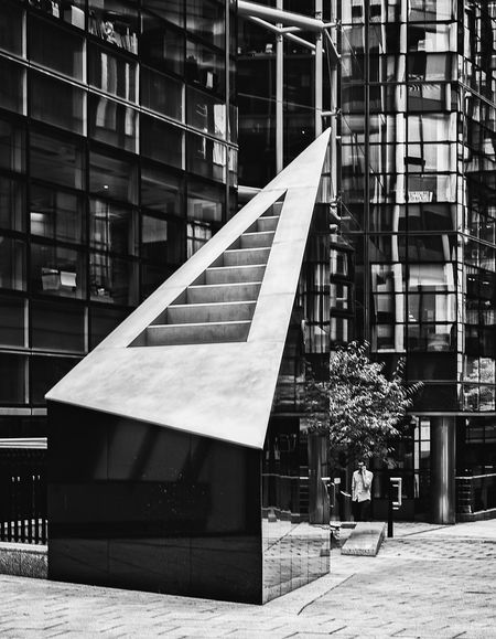 Architecture Building Building Exterior Built Structure City Day Footpath Glass - Material Modern Nature No People Office Building Exterior Outdoors Plant Reflection Sunlight Tree Window The Street Photographer - 2018 EyeEm Awards The Architect - 2018 EyeEm Awards EyeEmNewHere