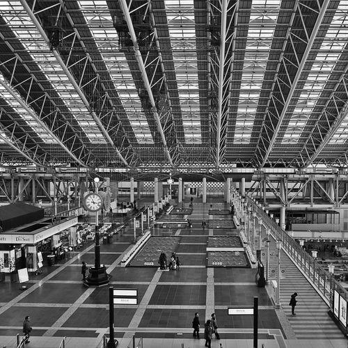 Osaka Station Streetphoto_bw Urban Escape Architecture