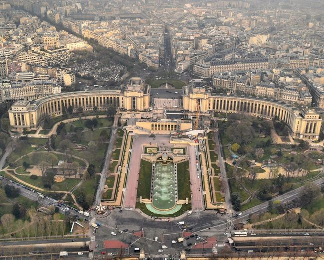 Architecture Travel Destinations History Built Structure Outdoors Day No People Cityscape Ancient Civilization Politics And Government Aerial Panorama Aerialphotography Aerial Shot View From Paris Eiffel Tower
