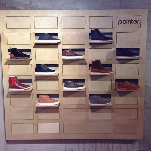 Exclusive Pointer shoe wall loreakmendiant in Barcelona #casualshoes #pointerfootwear #loreakmendian #barcelona #basque #shoes #spain #allwood Shoes Barcelona SPAIN Basque Pointerfootwear Casualshoes Loreakmendian Allwood