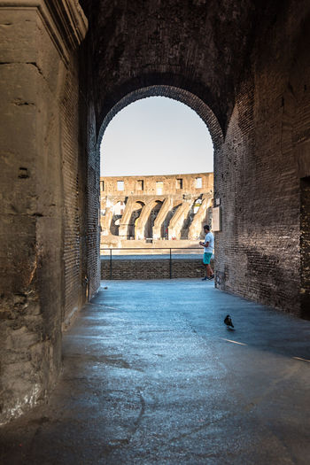 Colosseum of Rome Anphitheater Architecture Framed Rome Ancient Ancient Architecture Ancient Civilization Arch Archaeology Architectural Column Architecture Built Structure Colosseum Day History Indoors  Monument Nature No People Old Ruin Sky Tourism Travel Travel Destinations Water