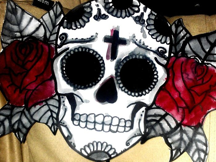 Sugarskull Skulls Art Check This Out Artist Art, Drawing, Creativity Diadelosmuertos Dayofthedead Dayofthedeadart