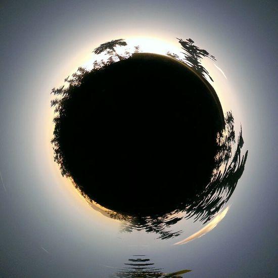 Black hole. Surrealism