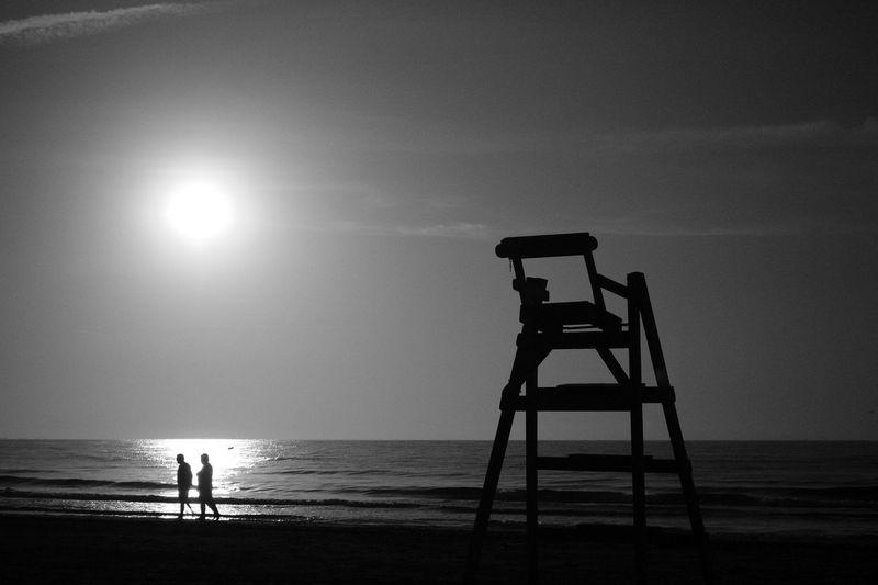 A New Day begins Natura Platja De L'Arenal Blackandwhite Photography
