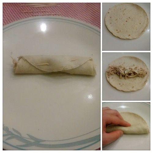 Cómo enrrollar un taco Tacos Flauta Tacosdorados