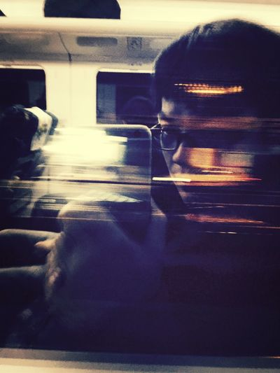 回家囉 自拍 火車