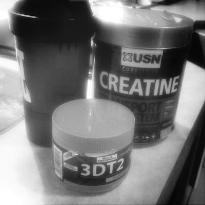 Pre and post Workout. 1 is for pump, the other is for recovery USN EvoX Gym