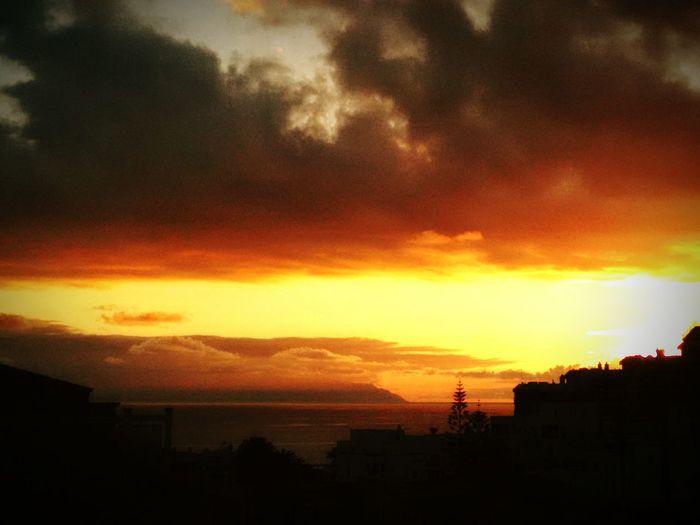 Sunset now.. Sea Enjoying The Sunset Enjoying Life Taking Photos Goodtime Relaxing Sunset Sunset #sun #clouds #skylovers #sky #nature #beautifulinnature #naturalbeauty #photography #landscape Islandlife Sea And Sky