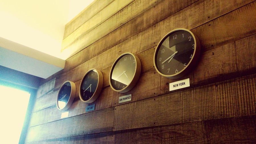 You think you have time Time Neverstopexploring  Wanderlust Indoors  Wood Paneling Clocks
