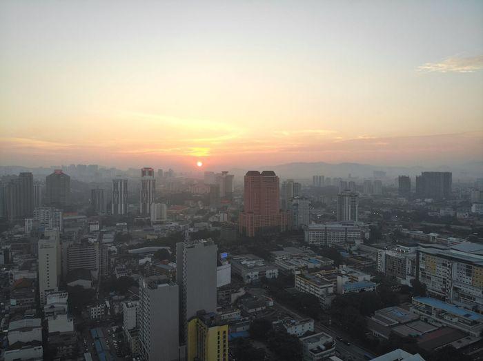 Sunset in Kuala