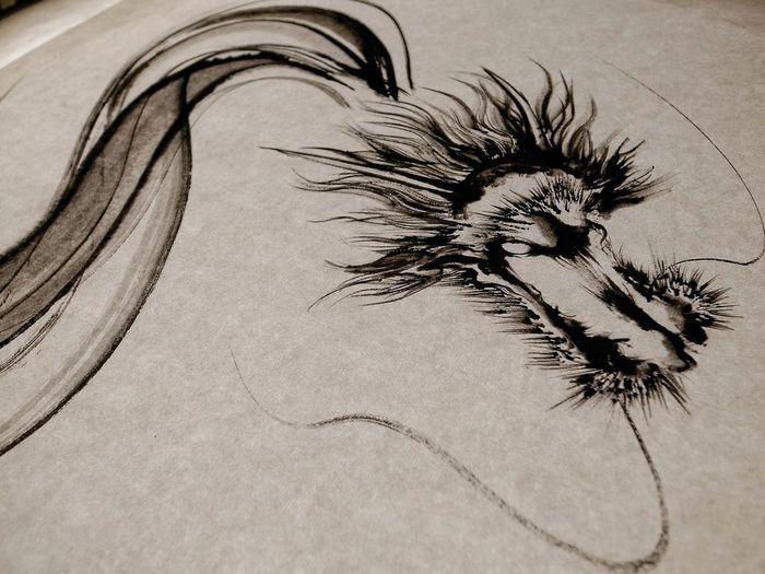 これと前の絵は西元裕貴さんの作品。常設展示されてるギャラリーが福井県にあるらしいので機会があれば行って観てみたい。Yuki Nishimoto ArtWork. Blackandwhite Art Exhibit Black And White Painting Dragon 墨絵 龍 ASIA ART PAINTING Asian Culture Monochrome Art Exhibition Art Appreciation 和のあかり✕百段階段展 和のあかり展