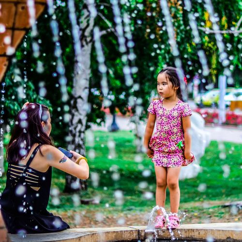 Future Model Street Canon Eos77D Childhood Child Girls Females Offspring Women Nature Real People People Day Standing Casual Clothing Outdoors The Photojournalist - 2018 EyeEm Awards
