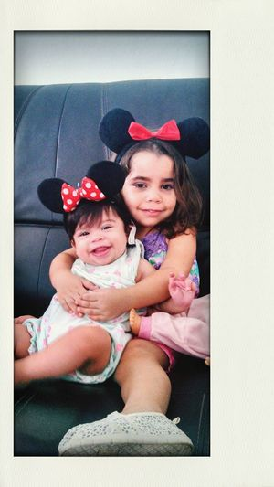 My minnie mouse Sobrinas Nieces Happy Girls Beatiful Girls