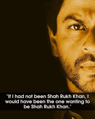 Not Only KING, But A Motivator...!!! HappyBirthday KingKhan Srk @iamsrk