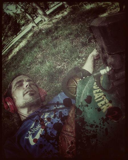Yard work 😕. Last Selfie X😨w😦x Being Silly Shout out to Dead Alive Sidewayselfie4life