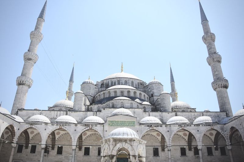 Architecture Blue Mosque Capital Cities  History Islam Istanbul Mosque Place Of Worship Travel Destinations