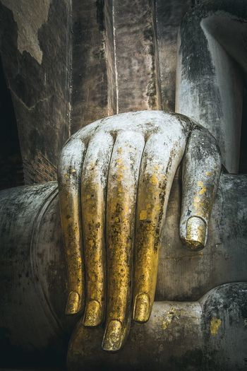 hand buddha statue Precept Blesing The Lord Buddha, Gold Buddha Image Temple Buddhist Temple Buddha Statue Buddhism Buddha Hand Buddha Statue Close-up