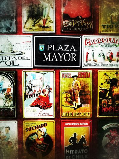 SPAIN Madrid Lovethiscity Plazamayor Greatpeople Colors Wallpicture