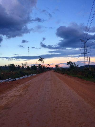 Cambodiaroadtrip Offroad Skyscape Landscape