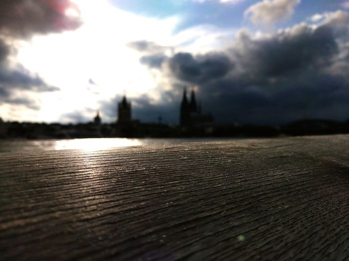 Restless Falling Skies Cologne Cologne Cathedral Home Seen A Thousand Times But Not Like This Scenery Clouds Anticipation