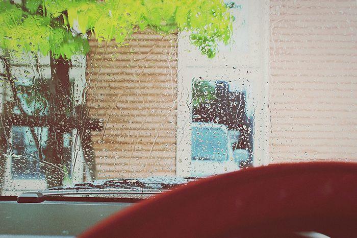 Rainy day. Hello World Weather Nagoya Japan