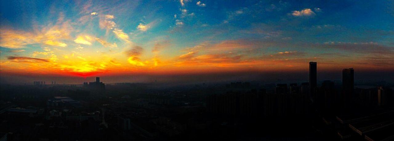 日出天际 Sky Sunset