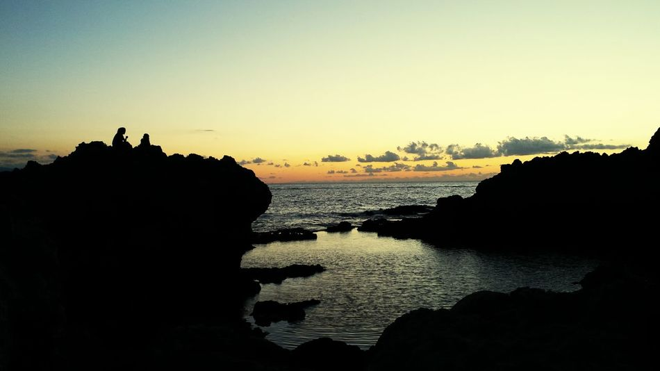 Sicily Piscine Di Venere Capo Milazzo Tramondo D'estate Beautiful Nature Nature_perfection