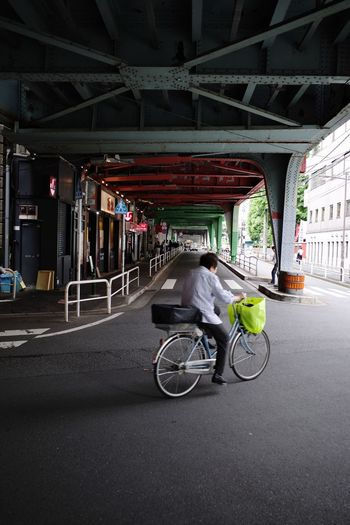 The Way Forward Under The Bridge Transportation Bicycle Mode Of Transportation City Architecture Street Road