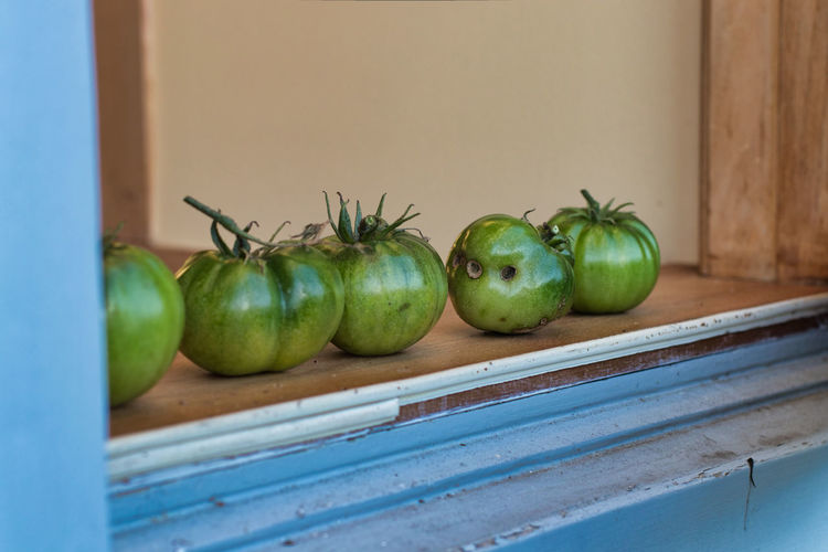 Farmhouse Green Color Nature Farmhouse Kitchen Fruit Green Tomatoes Vegetable