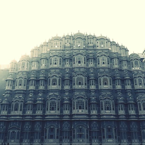 Hawa Mahal Palace Jaipur Rajasthan Kings Place Evening Sky Photooftheday Incredibleindia History Ancient Design Tourism No People Unforgettable Travel Destinations Beauty In Nature Hometown Memories Historical Monuments Photography In Motion Darkness In The Light The Street Photographer - 2017 EyeEm Awards Live For The Story Place Of Heart EyeEmNewHere Adventures In The City